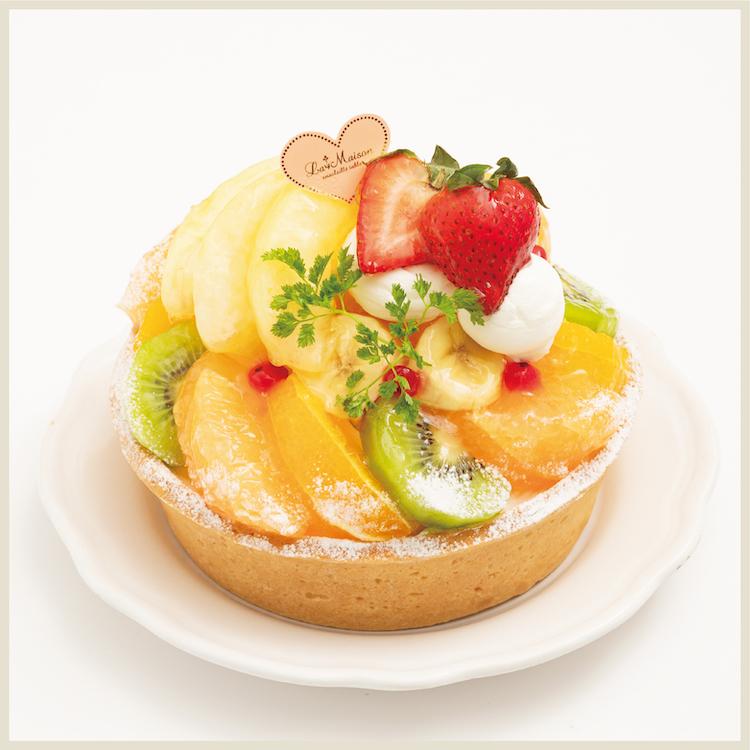季節のたっぷりフルーツタルト〜白桃〜