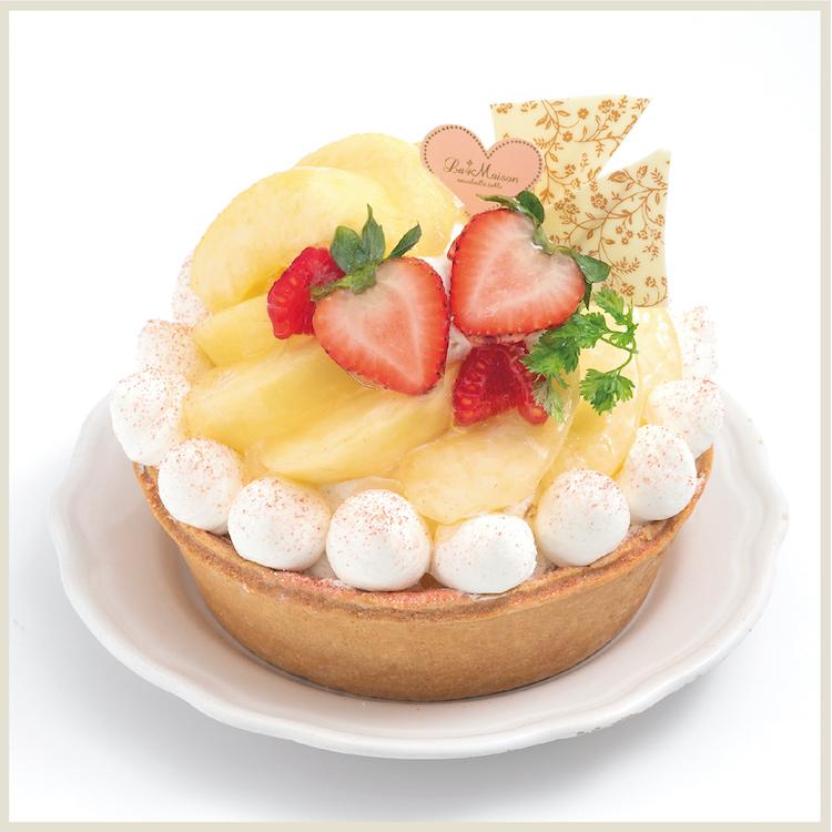 【8月限定】瀬戸内レモンと白桃のタルト
