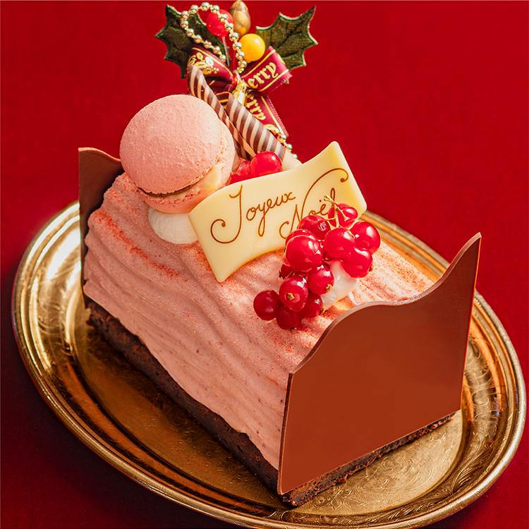 【クリスマス限定】ブッシュ・ド・ショコラベリー