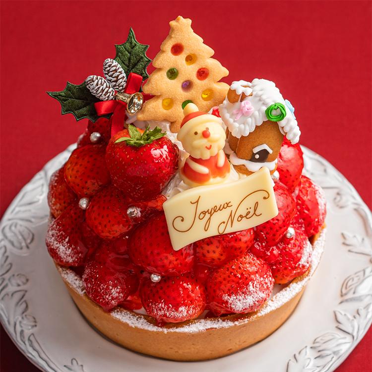 【クリスマス・店舗限定】プライムタルト・あまおう