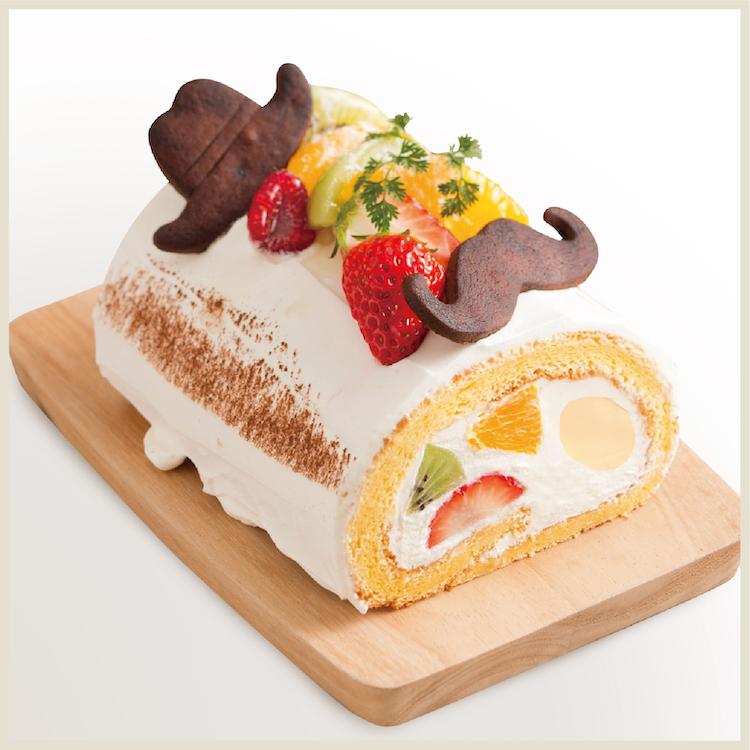 【父の日限定】フルーツとカスタードのロールケーキ